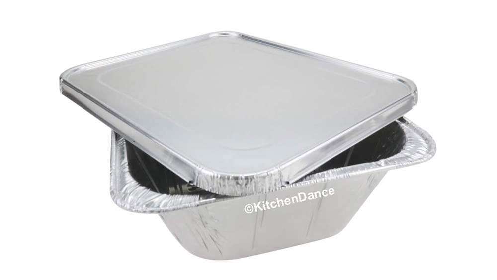 disposable aluminum foil Half-size Steam Table Baking Pan - Extra Deep