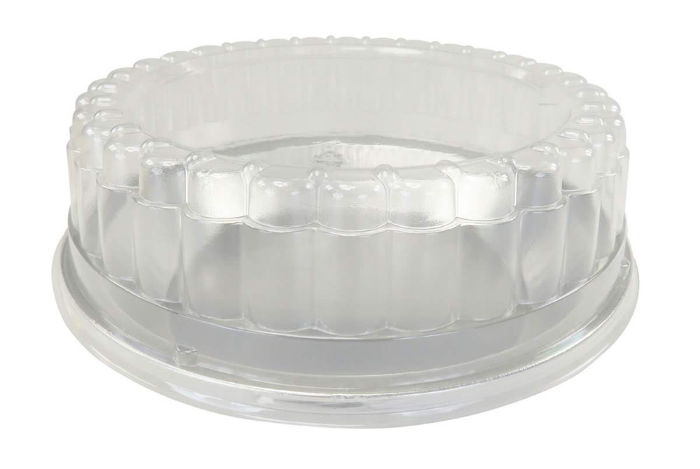 """9"""" Disposable or Reusable Heavy Foil Pie Pan  With Dome Lid   #509DL"""