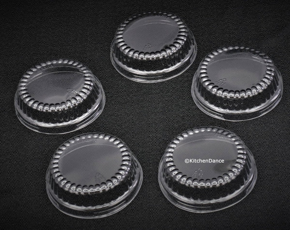 "Plastic Dome Lid  for 3"" tart pans *LIDS ONLY*  #P301"