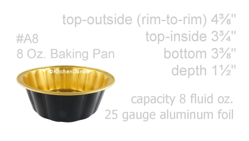 disposable aluminum foil round desert pans, holiday baking