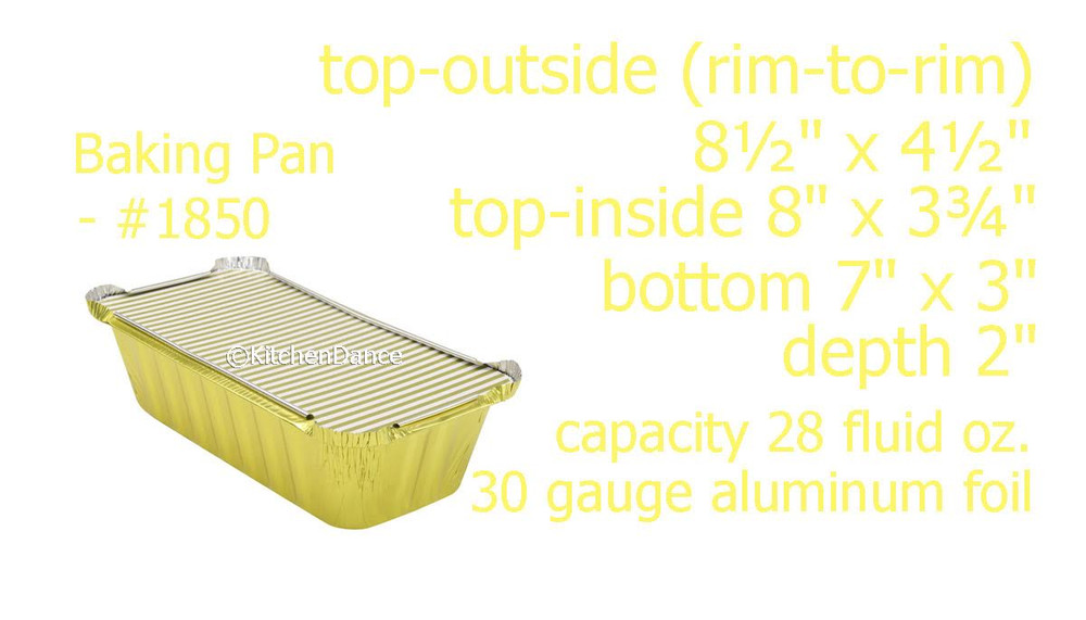 disposable aluminum foil 2 lb. loaf pan, baking pan, food container with board lid, carryout pan, takeout pan