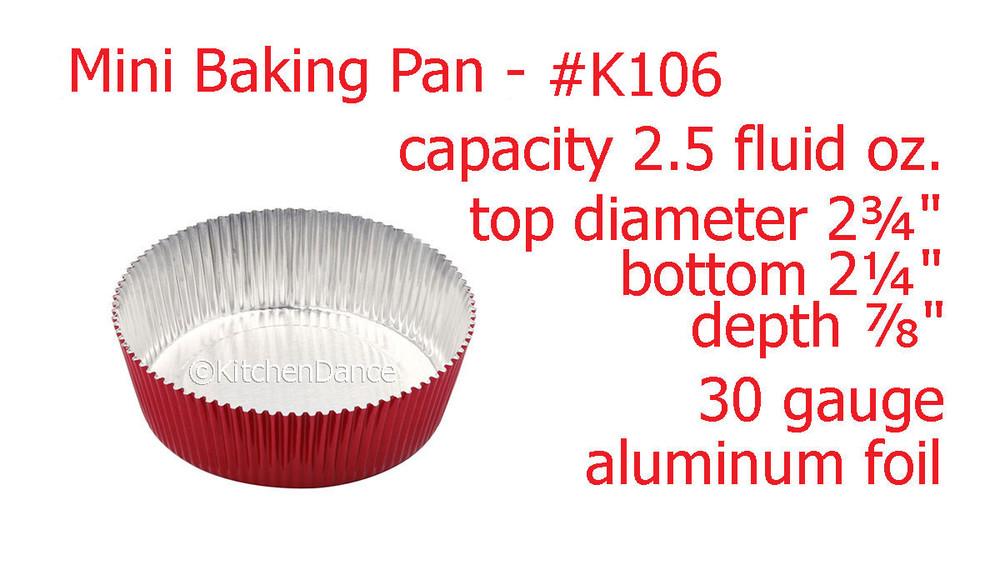 disposable aluminum foil tart shell, cupcake liner, mini baking pan