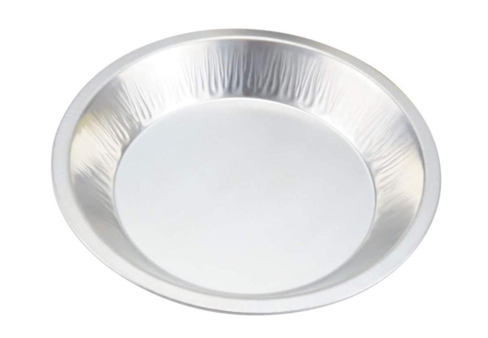 KitchenDance Heavyweight Disposable Aluminum Pie Pan #1070