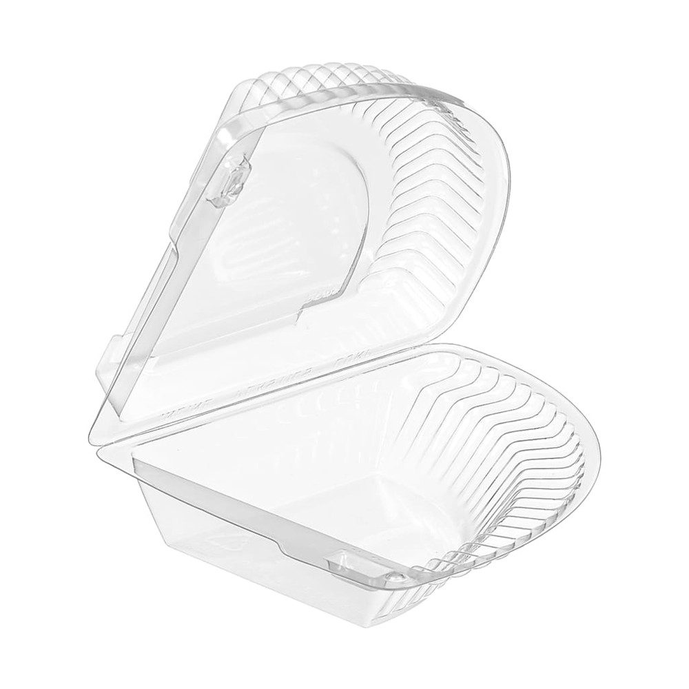 Small Individual Hinged Pie Slice Container  #CPC-204