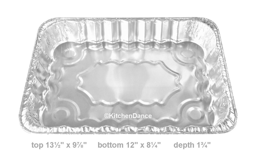 disposable aluminum foil holiday baking pan, 4th of July