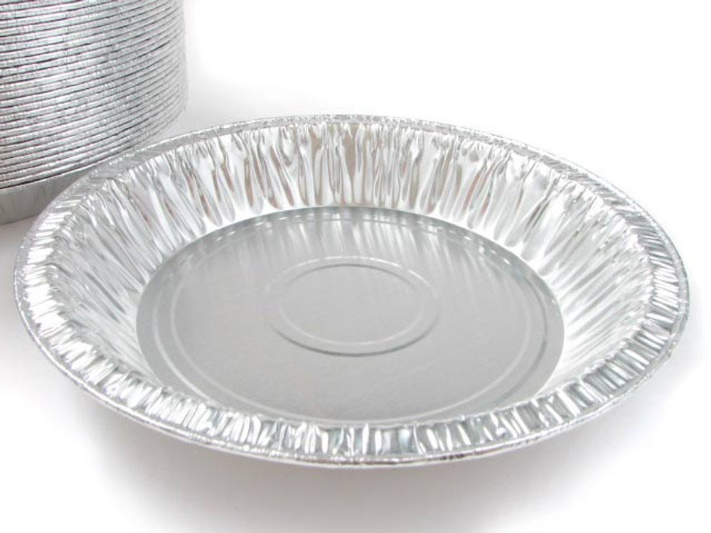 "8"" Disposable aluminum Foil Pie Pan - Deep"