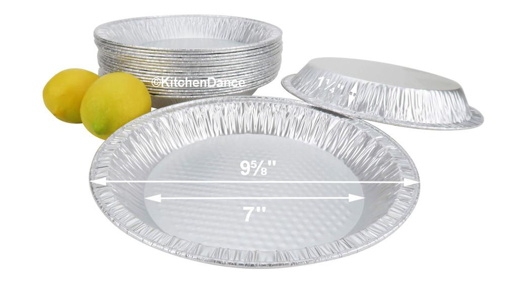 """disposable aluminum foil 10"""" pie pan, baking pans"""