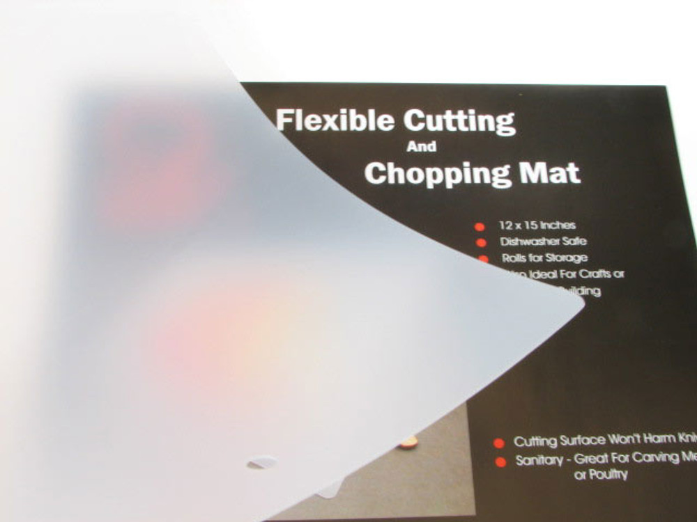 Flexible cutting sheet