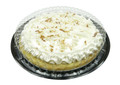 "9"" pie container - 2 piece low dome plastic"