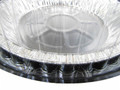 "9"" Plastic High Dome Pie Container   #WJ43"