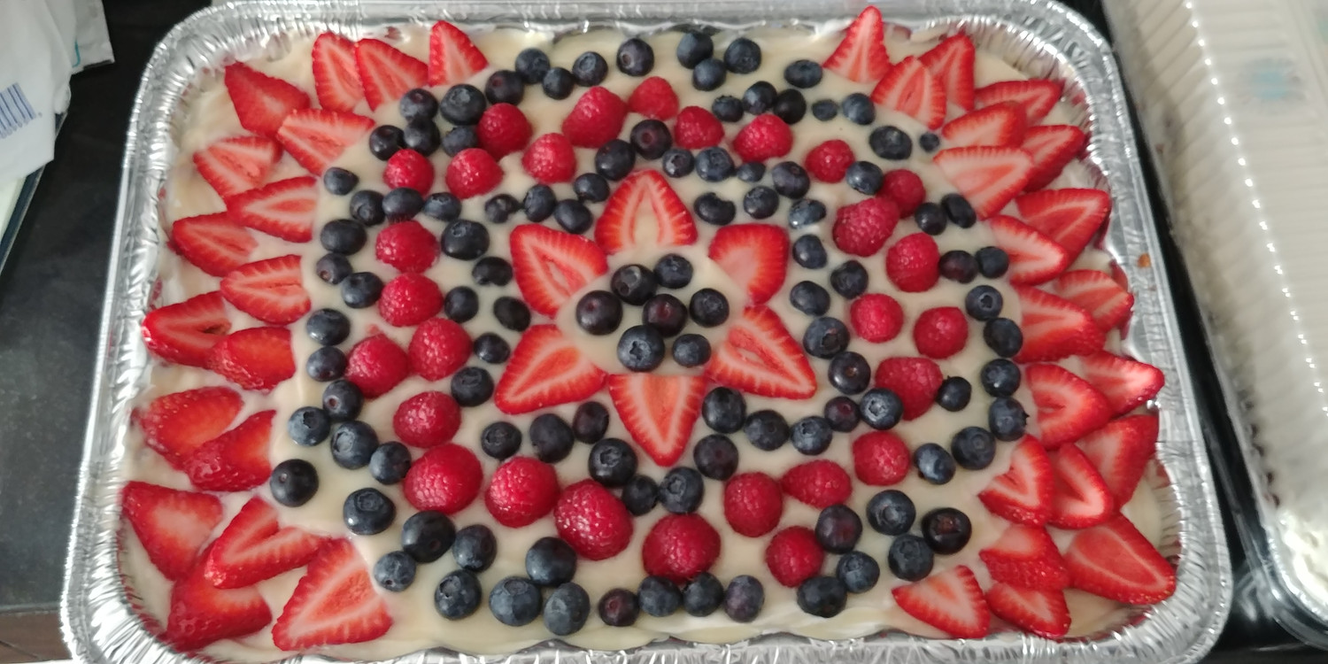 Independence Day Summer Cake
