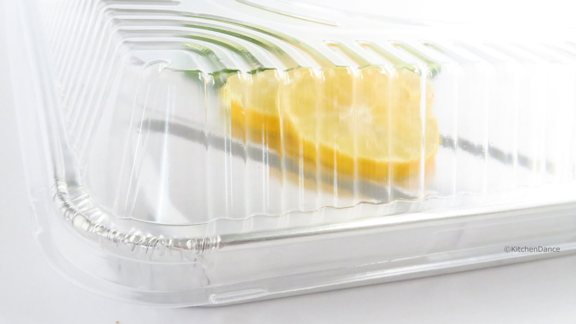 Half Size Aluminum Sheet Cake Pan With Clear Lid