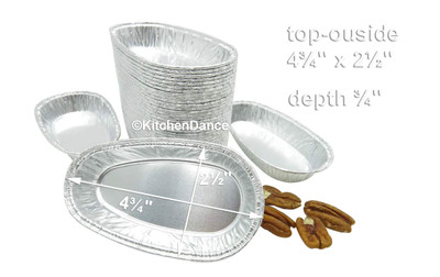 disposable aluminum foil potato shell, baking pans