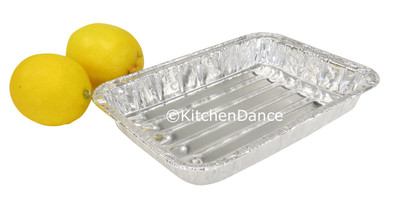 disposable aluminum foil small broiler tray, small broiler pan, small baking  tray, small baking pan