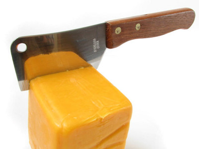 Stainless Steel Chop Knife / Cheese Knife