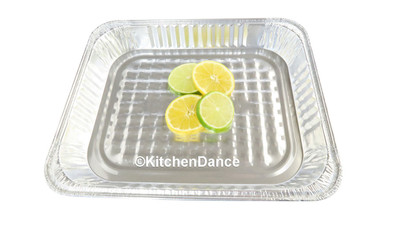 disposable aluminum foil 1/2 size shallow steamtable pan, baking pan