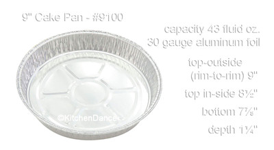 disposable aluminum foil caking pan, baking pan