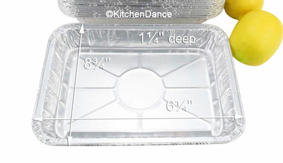 disposable aluminum foil baking pan, boiling pan, food serving pan