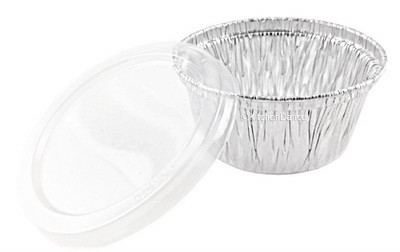 disposable aluminum foil 4oz. ramekins, mini baking cups, dessert cups