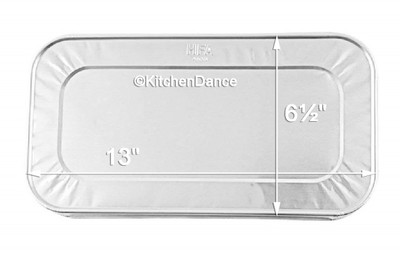 5 lb. loaf pan, 5 pound loaf pan, 1/3 size steam table pan, baking pan