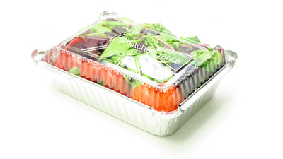 disposable aluminum foil 2¼ lb.  carryout/takeout pans, baking pans, food containers with plastic lid
