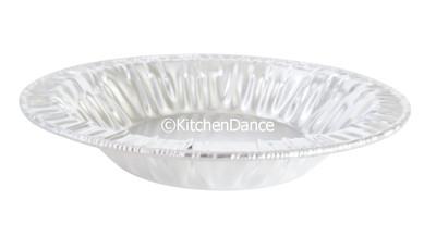 """4½"""" Individual Size Aluminum Foil Pie Pan / Tart Pan    #450"""