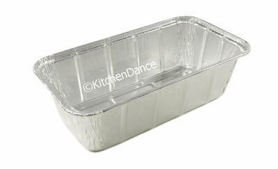 disposable aluminum foil 1.5 lb. loaf pan, baking pan, food container