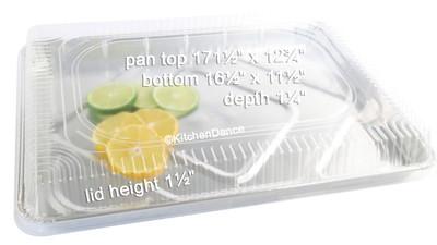disposable aluminum foil half size sheet cake pan, baking pan, baking tray, serving pan,  serving tray
