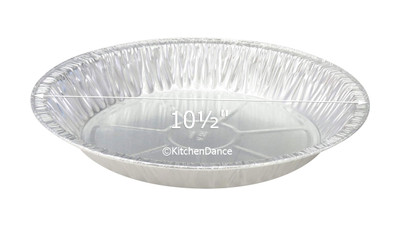 "disposable aluminum foil 11"" pie pans, baking pans"