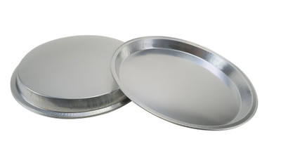 "12""  Disposable Heavy  Aluminum  Pizza Pan #1310"