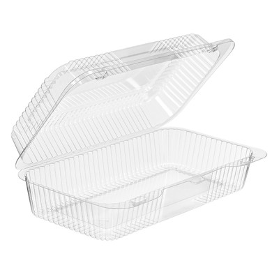 """10"""" x 5"""" Disposable Cookie or Danish Plastic Bakery Container   #CPC-41"""