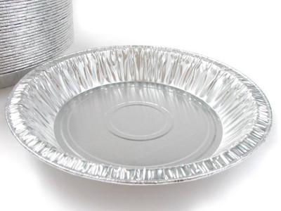 """8"""" Disposable aluminum Foil Pie Pan - Deep"""