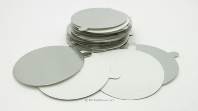 Board Lids for 4 oz. Disposable Aluminum Foil Cups