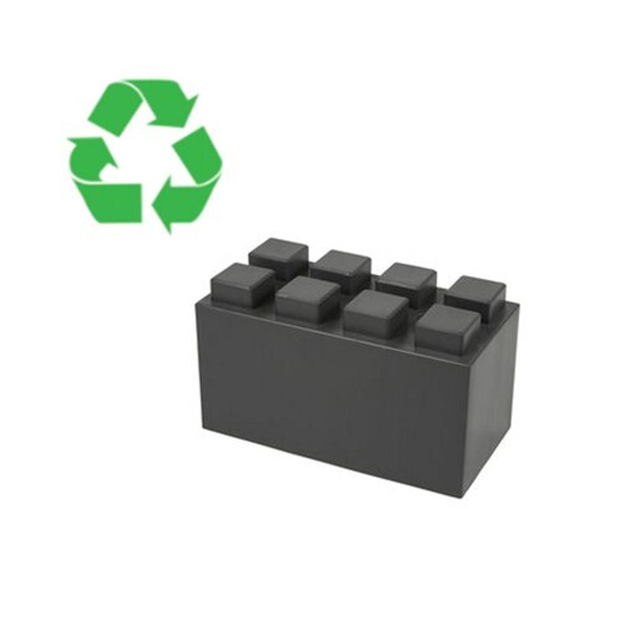 "12"" x 6"" Full Block - 100% Recycled"