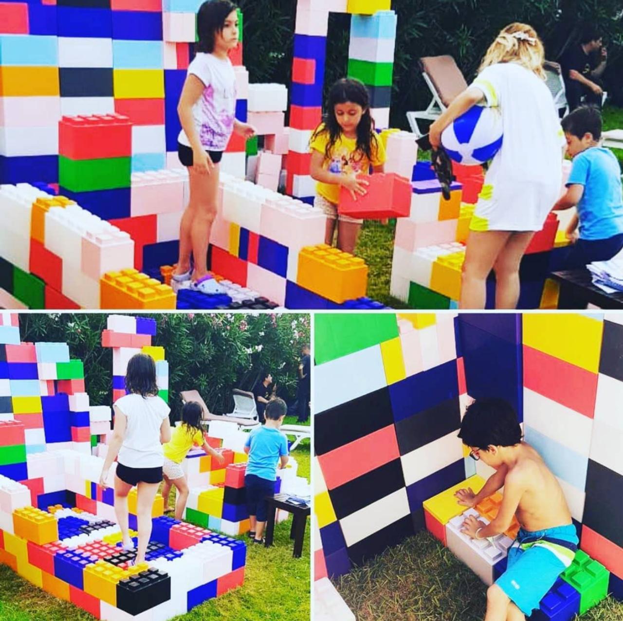 Playground Play Mixed Block Set