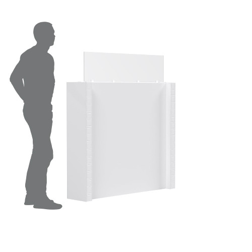 The EverPanel Office Partition is perfect for offices because you can easily reconfigure as needed.