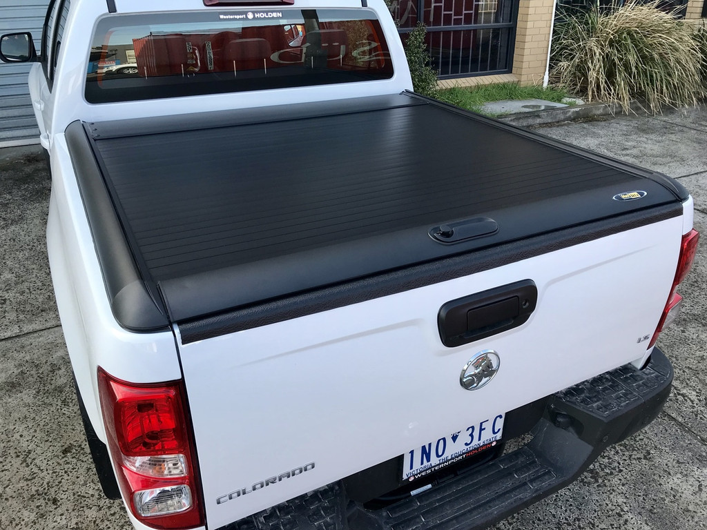 Black Roller Lid Shutter For Holden Colorado RG 2012-2019