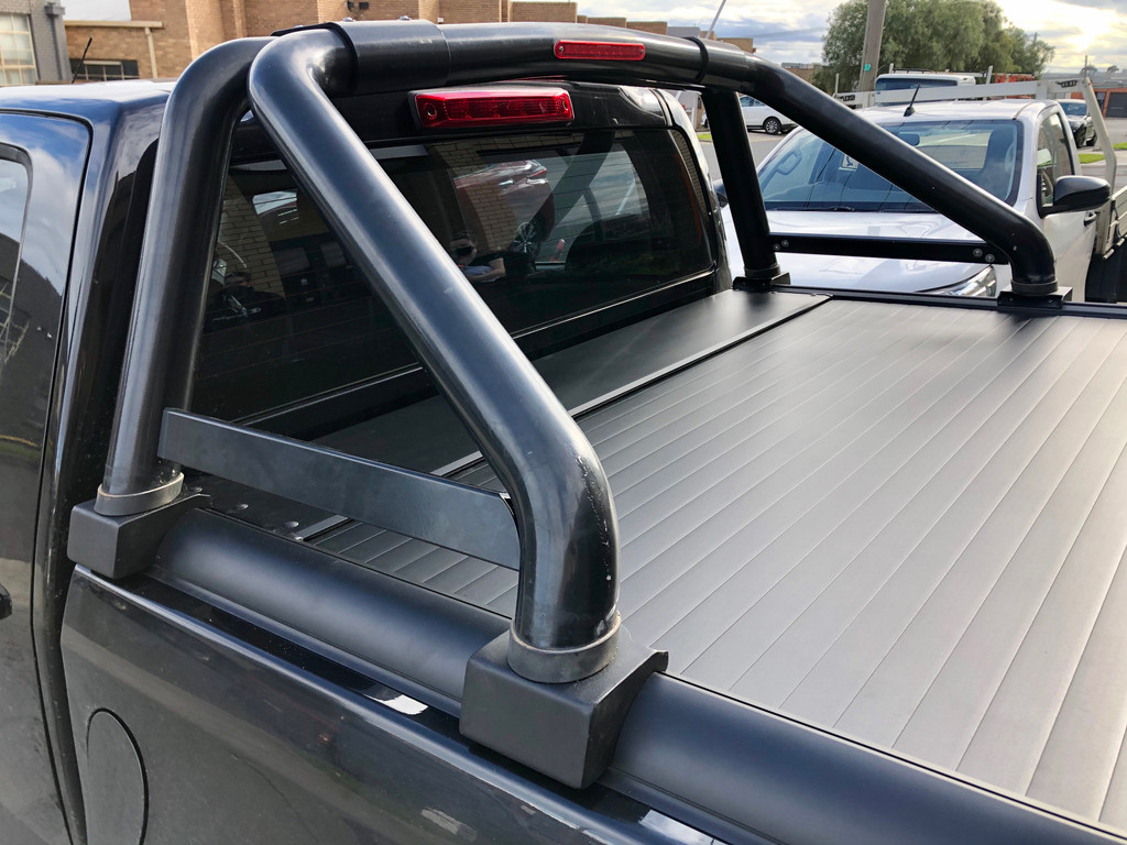 Gen1 Black Roller Lid Shutter For Isuzu D-Max 2012-2020