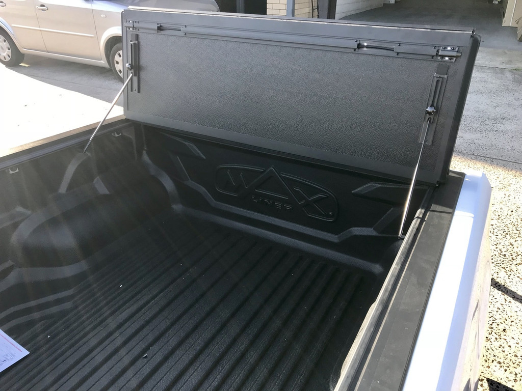 Quad-Fold Hard Lid Tonneau Cover for Ford Ranger 2012-2019