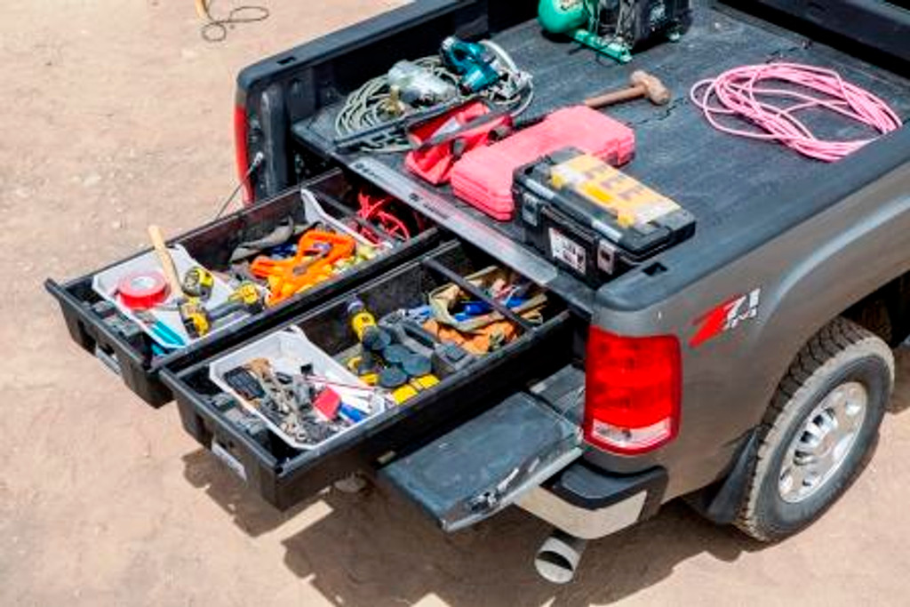 Decked Drawer System For GM Chevrolet Silverado