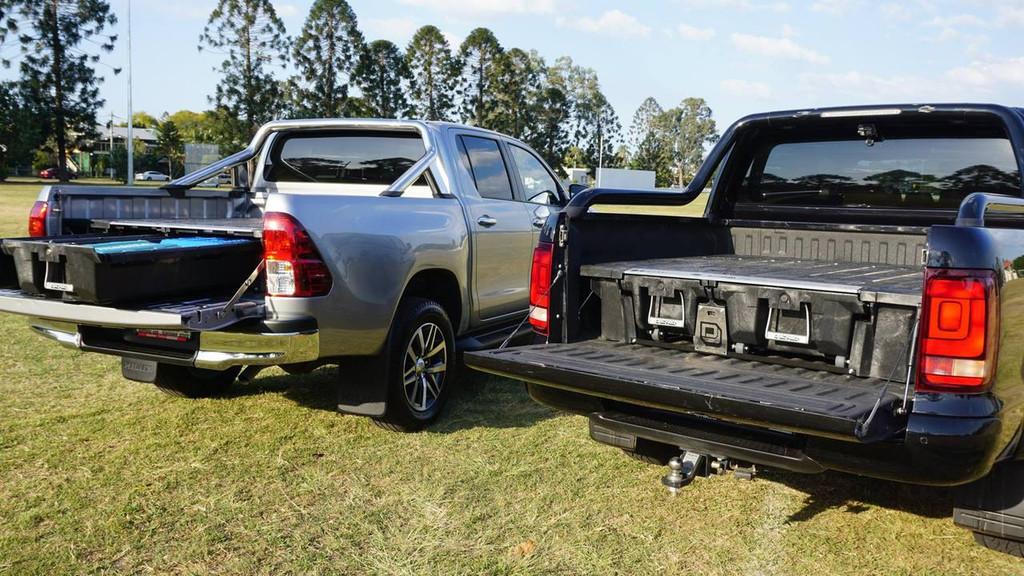 Decked Drawer System For GM Chevrolet Silverado