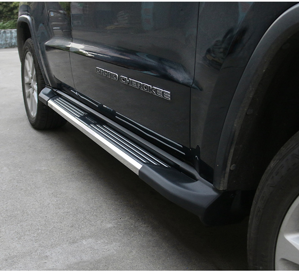 ELEGANCE STYLE RUNNING BOARDS / SIDE STEPS FOR JEEP GRAND CHEROKEE 11+