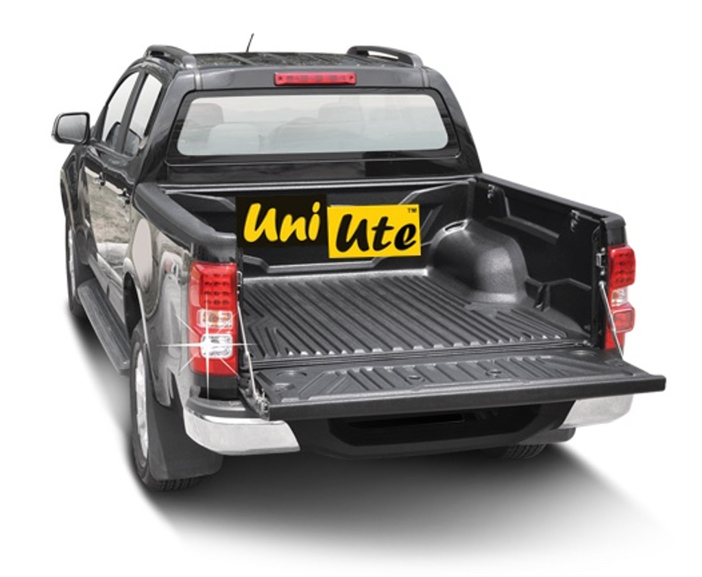 Over Rail Tub Liner For Holden Colorado RG Double Cab 2012-2019