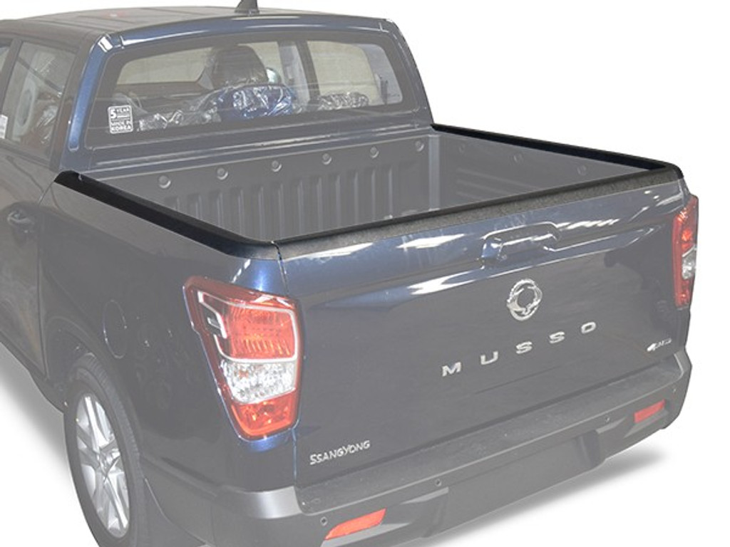 TAILGATE GUARD CAP PROTECTOR COVER FOR SSANGYONG MUSSO 2018+