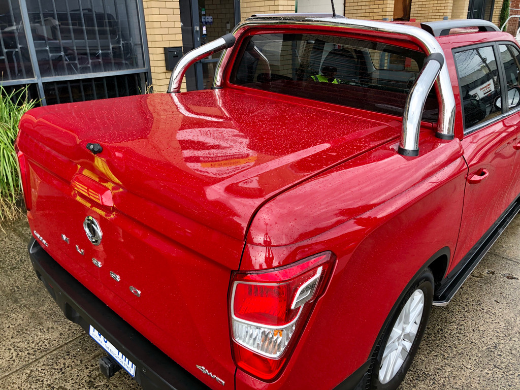 3 Piece Hard Lid For SsangYong Musso XLV (Long Tub) 2018+