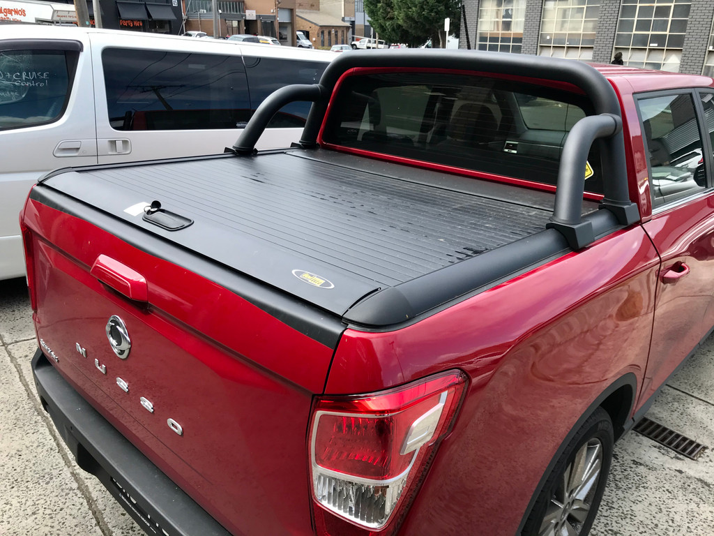 ROLL BAR / SPORTS BAR FOR SSANGYONG MUSSO 2018-CURRENT ROLLER LID SHUTTER