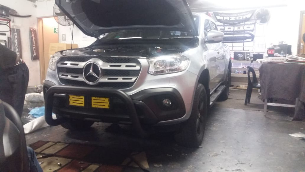 Sensor Compatible Nudge Bar For Mercedes-Benz X-Class 2017-2020