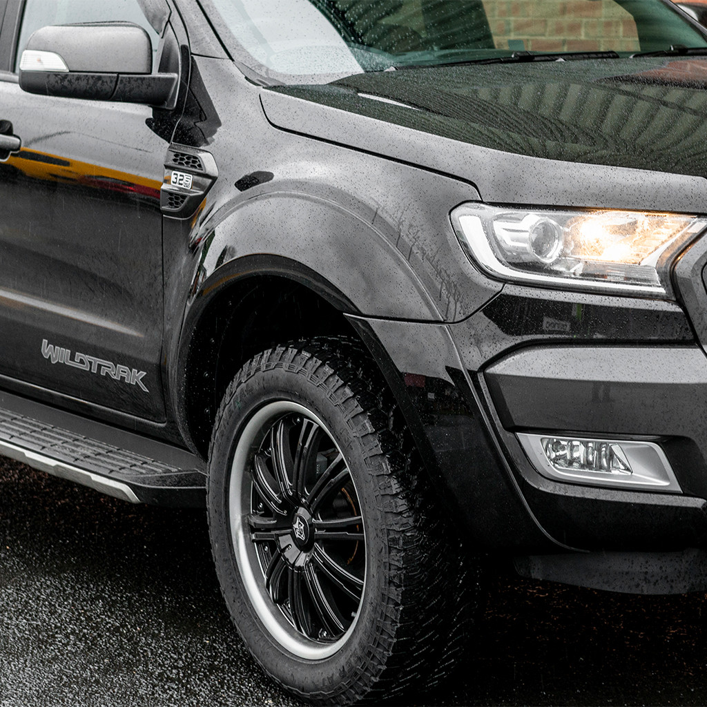 OEM Quality Smooth Finish Colour coded Fender Flares For Ford Ranger PX2 PX3 2015-2020