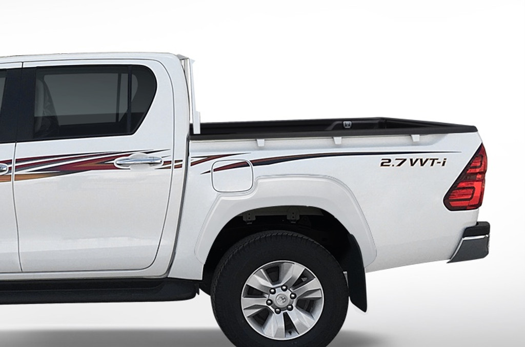 OEM Quality Smooth Finish Colour coded Fender Flares For Toyota Hilux 2015-2019