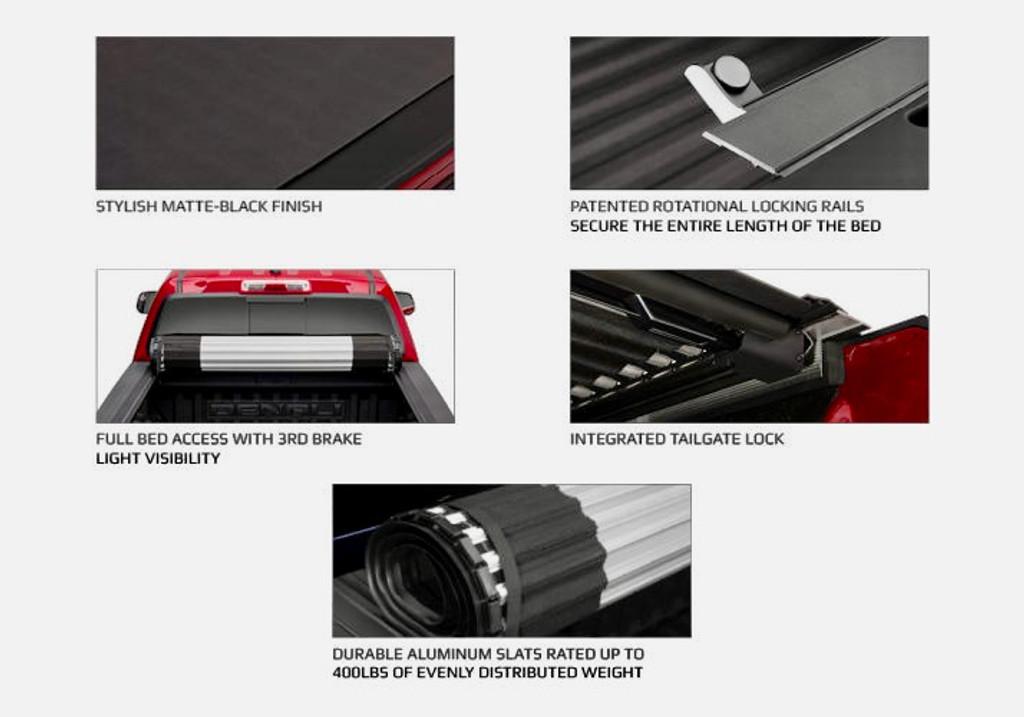 HR REVOLVER Hard Rolling Cover for Dodge RAM 1500 DS/DT 2009-2021 5,7' BED
